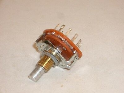 Ced P-h391 Rotary Switch 1 Pole 12 Position Bbm Non-shorting 14 Shaft