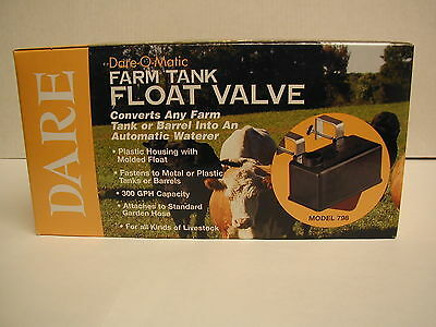 Dare - Stock Tank Float Valve - Model 798
