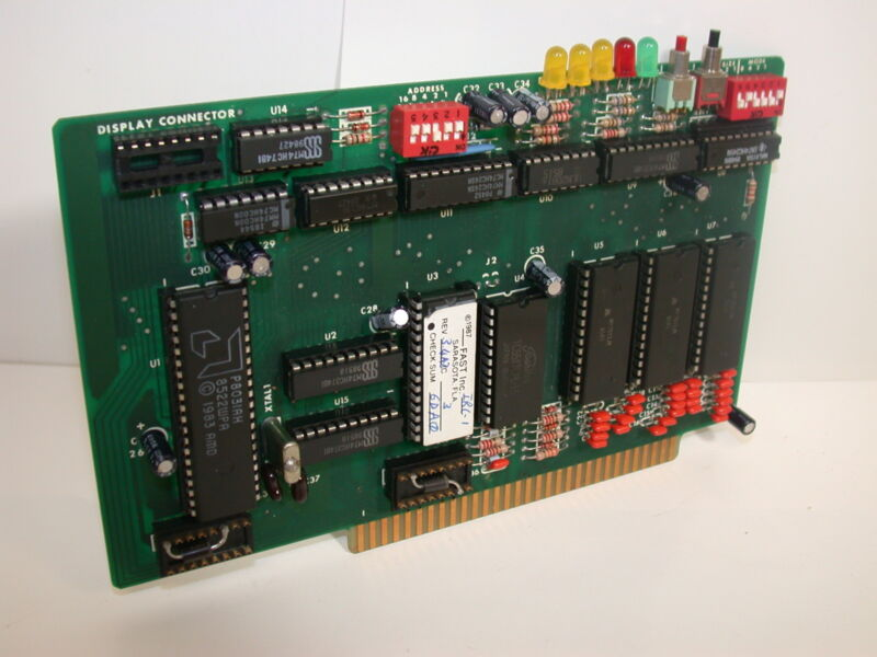 EDWARDS EST CPU IRC-1 fast 1987 not sure of part number
