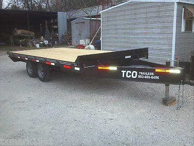 New 2019 -96x16 Custom Haul Freight Utility Deckover Over The Axle Trailer
