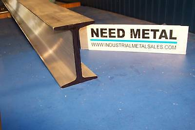 6061 T6 Aluminum I Beam 5 X .494 X 3.284 X 60-long