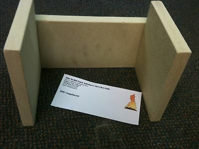 (STOVAX BRUNEL 1A Replacement  Fire bricks Set FREEPOST)