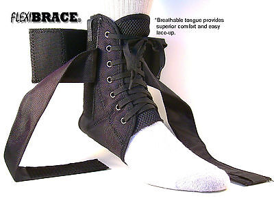 Ankle Brace Support Guard With Removable Inserts New by Flexibrace