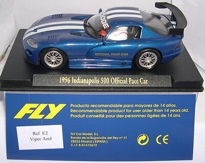 Fly E2 Dodge Viper 1996 Indianapolis 500 Official Pace Car Lted. Ed. MB
