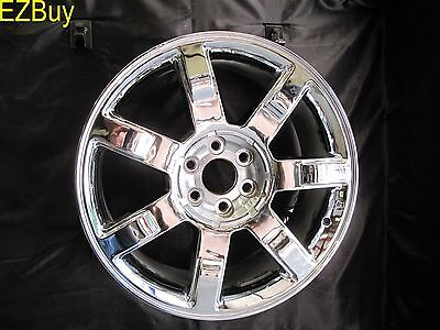 "22"" ESCALADE FACTORY STYLE OEM SPECS CHROME BRAND NEW WHEEL RIM 5309"