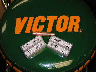 Victor Cutskill Cutting Tips Lot Of 5 Tips Size 3 5405-4464