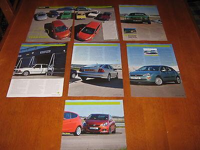Vauxhall Viva, Ford Cortina, Cavalier, Escort, Fiesta, Vectra, Astra, Focus,