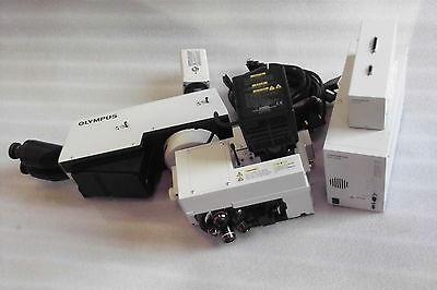 Olympus Microscope Bx Seriesbx-ucpu-iffhu-lh100-3lmplanfidxc-990 Camera