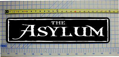 THE ASYLUM Halloween / Haunted House / Horror Sign 6