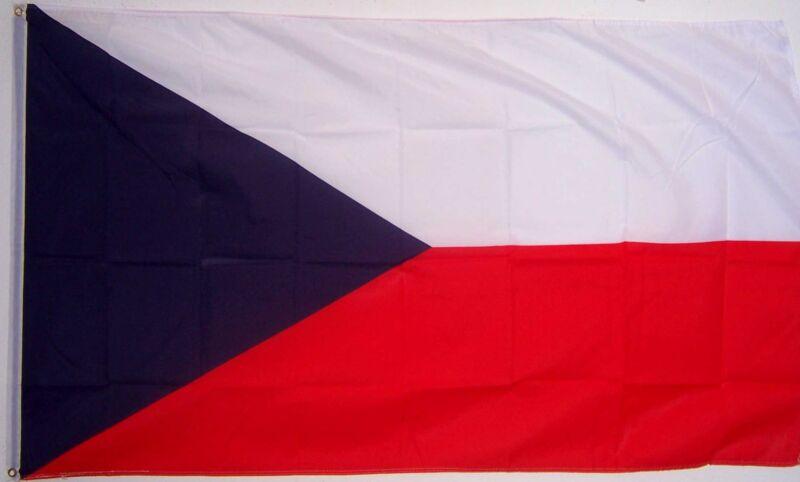 CZECHOSLOVAKIA czech FLAG NEW 3x5ft better quality usa seller