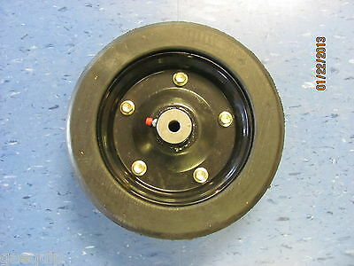 """REPLACEMENT FINISHING MOWER WHEEL- 10"""" X 3.25"""" WITH 1/2"""" AXLE HOLE-FITS MANY"""