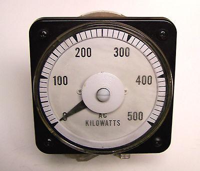 Yokogawa Panel Meter Ac 0 - 500 Scale Part 136-901-347 ... Zm-87