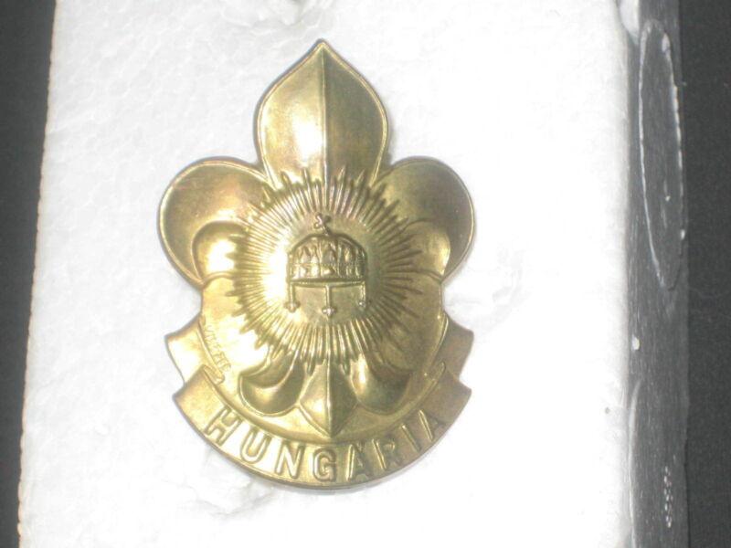Hungary Boy Scout Hat Pin           JK