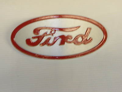 Ford 8n Tractor Cast Aluminum Hood Emblem 8n16600a New Free Shipping