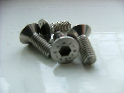 vauxhall astra vectra insignia front brake disc retaining screw m6 stainless