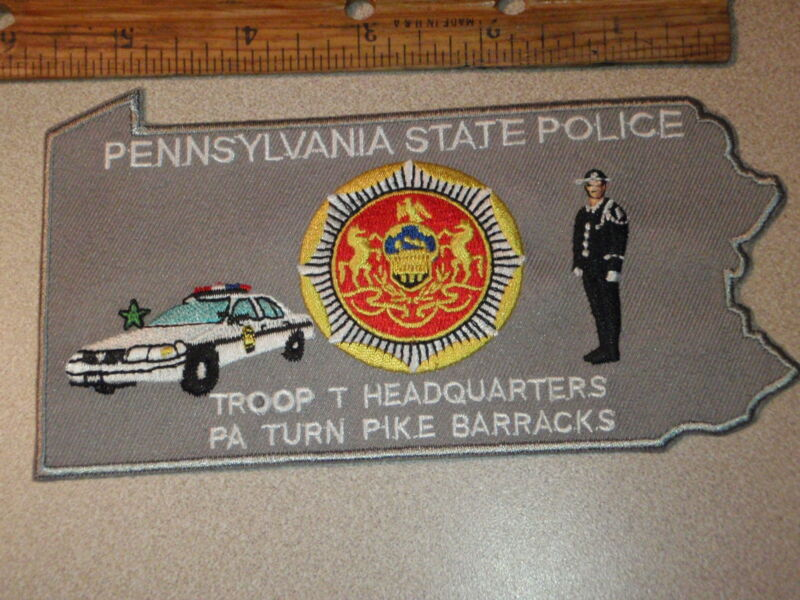 PENNSYLVANIA STATE POLICE TROOP T HEADQUARTERS TURN PIKE BARRACKS