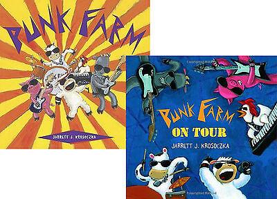 Punk Farm & Punk Farm on Tour  Set of 2 Books Hardcover