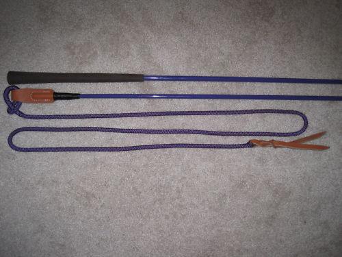 THOMEY EQUINE HANDY CARROT STICK FITS PARELLI TRAINING ~ Purple