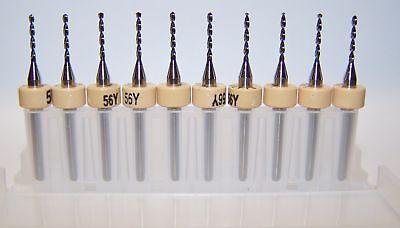10 - 56 .0465 Printed Circuit Board Drills Pcb