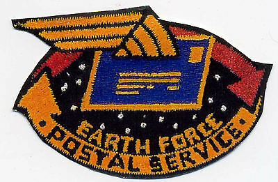 Babylon 5 Embroidered Postal Service Iron-on Patch