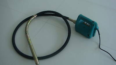 HIGH FREQUENCY CONCRETE VIBRATING POKER 240 VOLT new