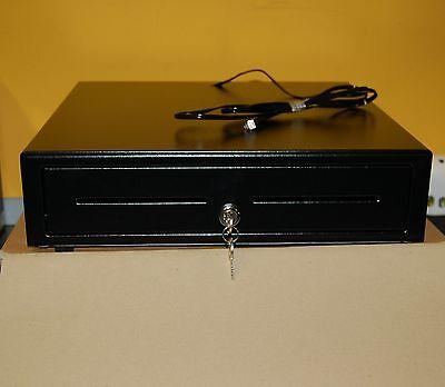 NEW Cash Drawer Black 24V / 12V for EPOS Cash Draw with RJ11 / RJ12 Connection