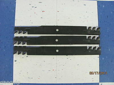 3 Replacement Mulching Blades For 6 Howse Finishing Mower Ch-90-961m