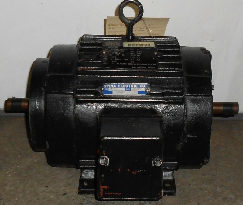 Lincoln Remanufactured Electric Motor 1.5 HP  1775 RPM  11506WT