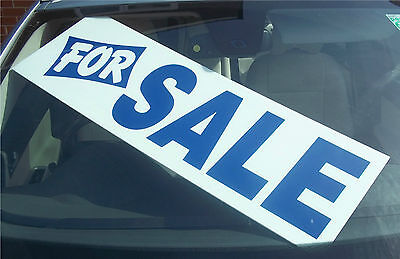 5 x Car/Vehicle For Sale Signs/Correx Boards, Reusable, Assorted Wordings