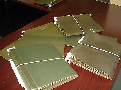 Lot Of 25 Letter Size Hanging File Folders Pick Up Only Cleveland Oh.