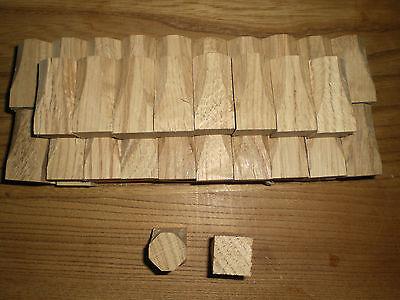 50 Ziernägel Abdeckkappe Holznägel Eiche 20x20x50 mm neu Zierkappen - Eiche Nägel