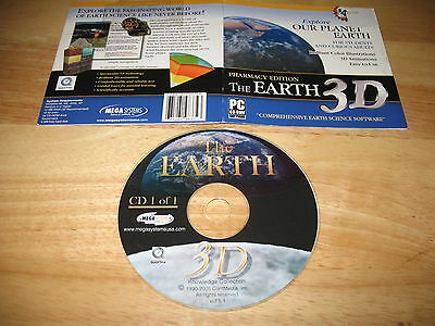 (The Earth 3D Pharmacy Edition PC CD-ROM ContMedia 2005 for Windows 98/Me/2000/XP)
