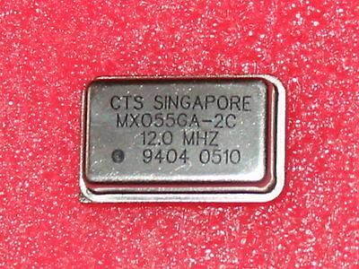 Cts Mx055ga-2c - 12.0 Mhz Crystal Oscillator