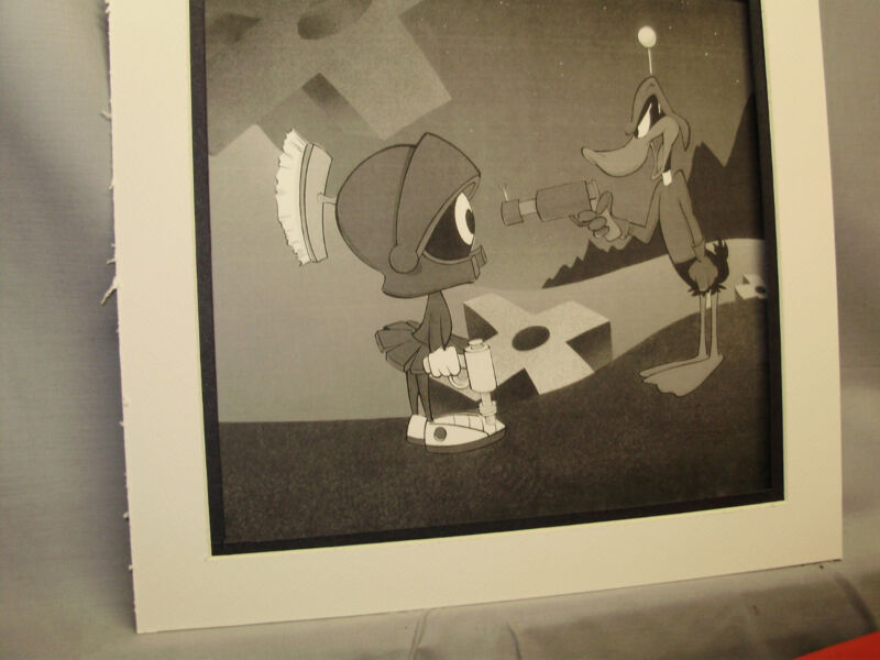 Daffy Duck meets Marvin Martian with ray gun Looney Tunes Special Offer 20 items