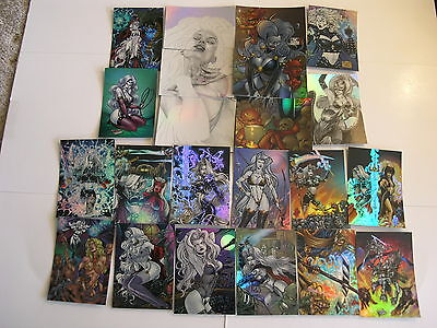 Lady Death Holofoil Covenant 90 card Set 1998 from Artbox
