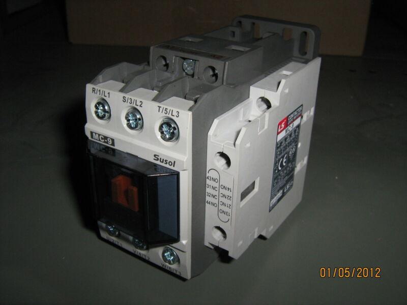 LS INDUSTRIAL MC9S-1A1B 24VDC 9 AMP CONTACTOR SUSOL 24VDC