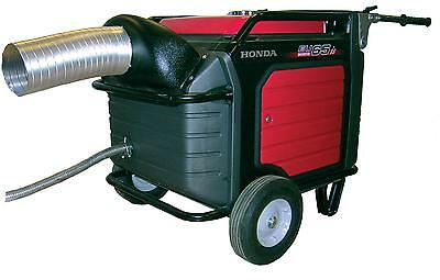 Honda Eu7000is Generator Exhaust System. Directs Exhaust Air Outside Enclosure.