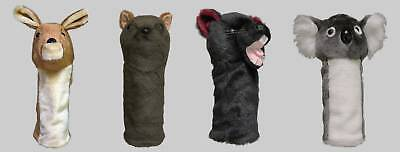 Set of 4 Marsupial Animal Golf Headcovers (1W,3W,5W, Hybrid), Gift Accessories  -