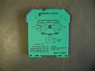 Pepperl Fuchs Zg18 842003 D.c. Isolation Module
