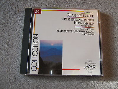 CD Music Collection  Gershwin Rapsody in Blue u.a. gut erhalten