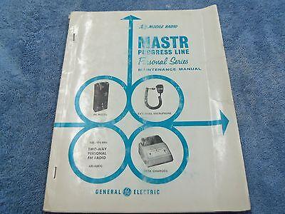 General Electric Ge Mobile Radio Master Progress Line Model Pr Vhf  342