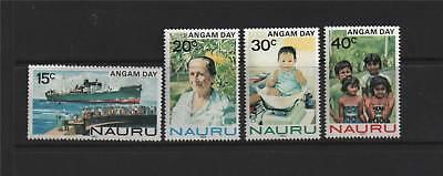 Nauru 1983 Angam Day SG 288/91 MNH