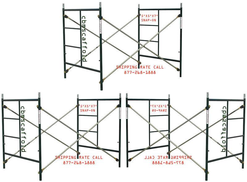 CBM Scaffold 3 set Masonry Frame Sets 5