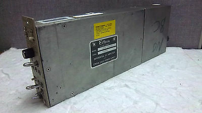 Ectron Differential Dc Amplifier 418-m828a Used 418m828a