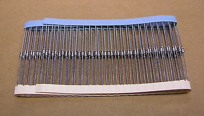 S00137a 100 Piece On Tape 1n4736a Zener Diode 6.8 Volt 500 Mw Do-35 Glass Case