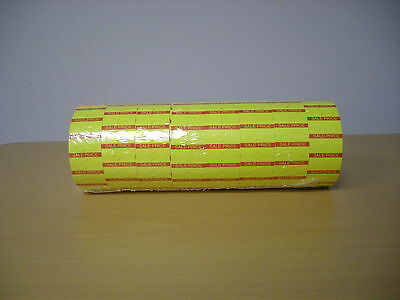 Motex Mx5500 Labels 1 Line Redyellow Sale Labels For One Line Up To 8 Character