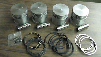 Wisconsin Engine Pistons Ring Set For Vg4d Read Ad