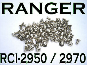 RANGER RCI-2950DX RCI-2970DX RCI-2970N2 RCI-2995DX SUPERSTAR COBRA BEZEL SCREWS