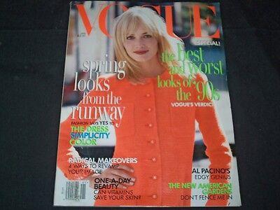 1996 January Vogue Magazine   Amber Valletta   Fashion Super Models   F 787