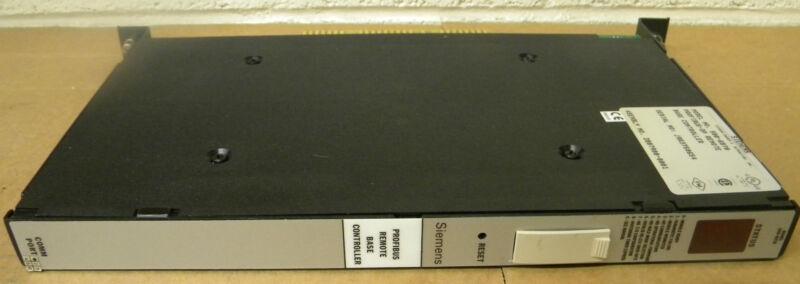 SIEMENS 500-6870 PROFIBUS-DP REMOTE BASE CONTROLLER MODULE 5006870